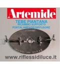 Artemide staffa dei portalampada ricambio per piantana tebe