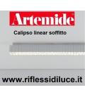 Artemide calipso linear 120 soffitto 43 w led 3000K