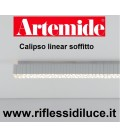 Artemide calipso linear 180 soffitto 63 w led 3000K