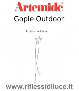 Artemide fune con gancio per Gople outdoor
