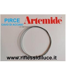 Artemide kit 3 cavi di acciaio ricambio pirce e pirce mini sospensione