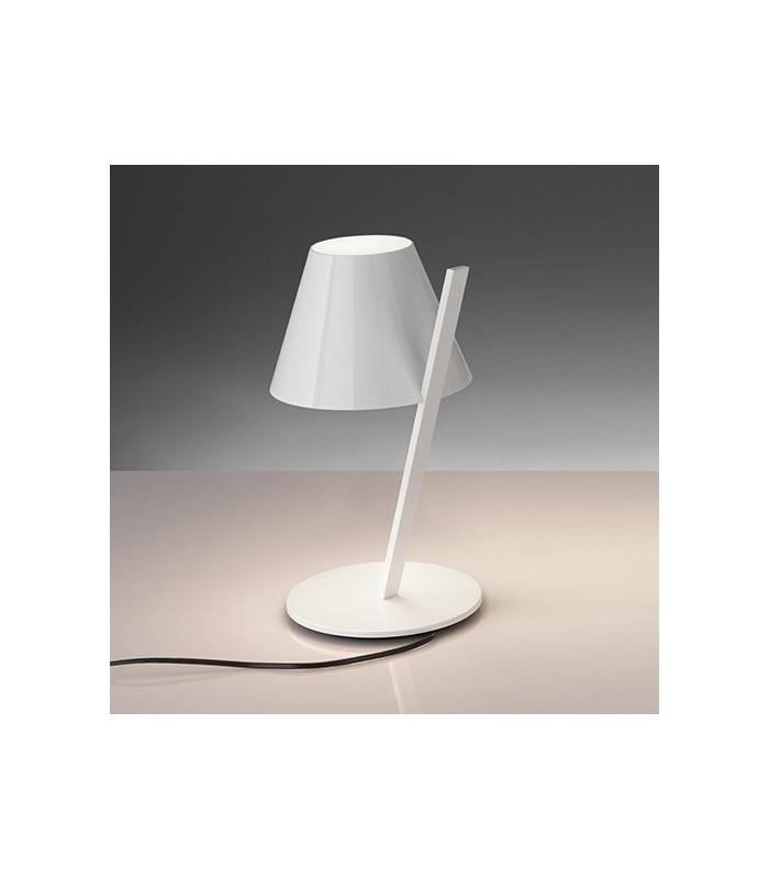 Artemide la petite tavolo bianca allumnio e tecnopolimero - Artemide lampade tavolo ...