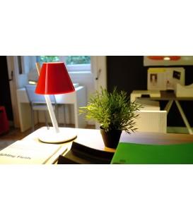 Artemide la Petite tavolo led E14 rossa