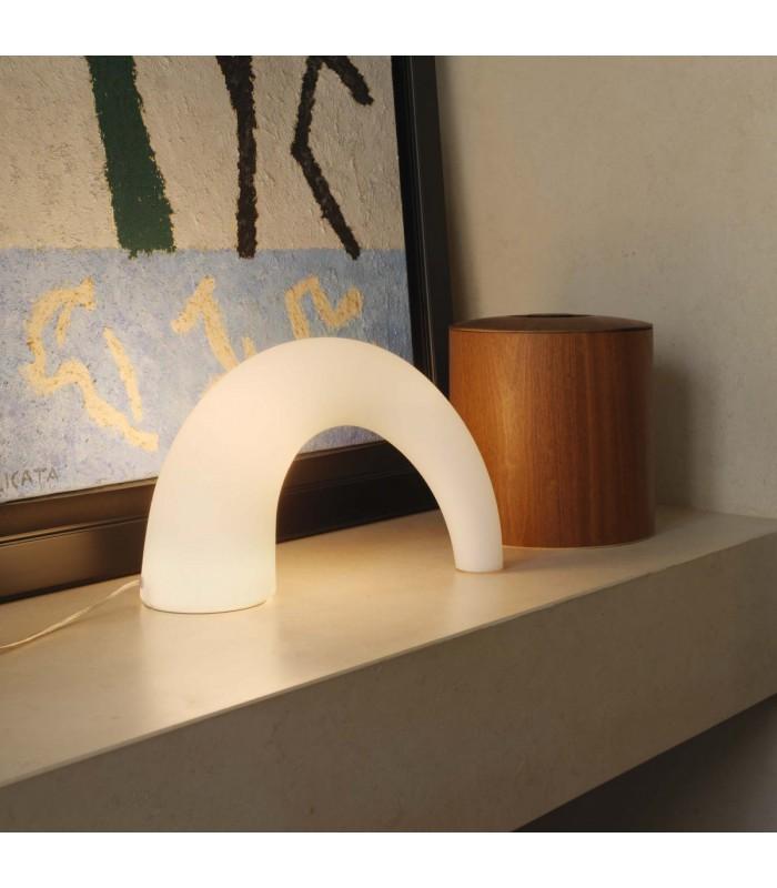 Fontana arte lampada da tavolo Thor piccolo E14 1X4
