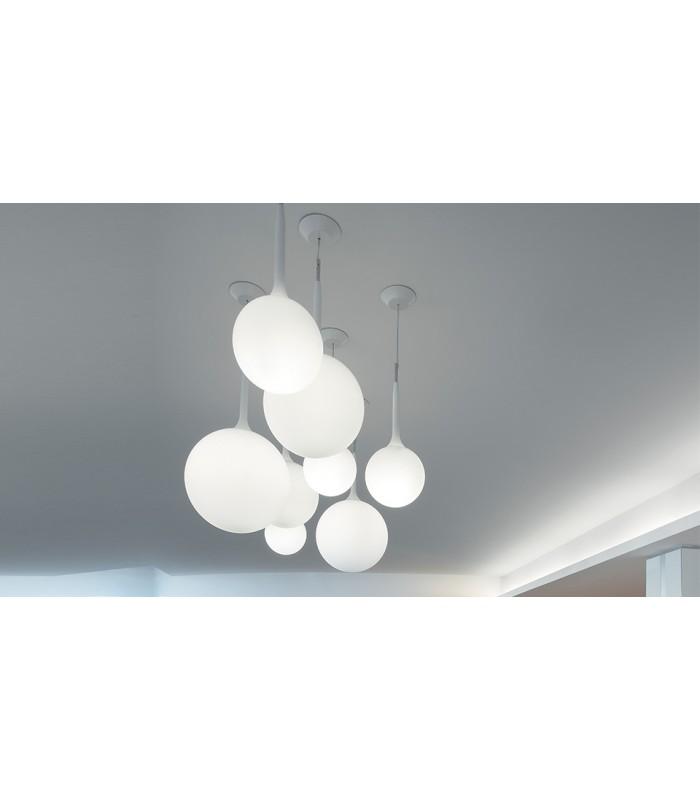 Artemide|castore sospensione 14|lampada ecoalogena 46w g9|prezzo ...