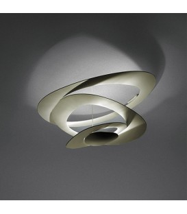 ARTEMIDE PIRCE MINI SOFFITTO LED 3000K ORO