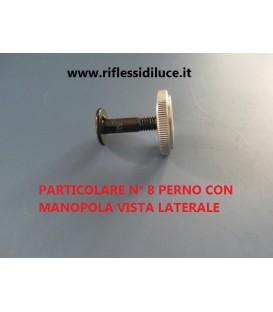 ARTEMIDE RICAMBIO TOLOMEO PERNO + MANOPOLA laterale