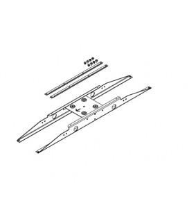 Novalux kit fissaggio a plafone dei pannelli led
